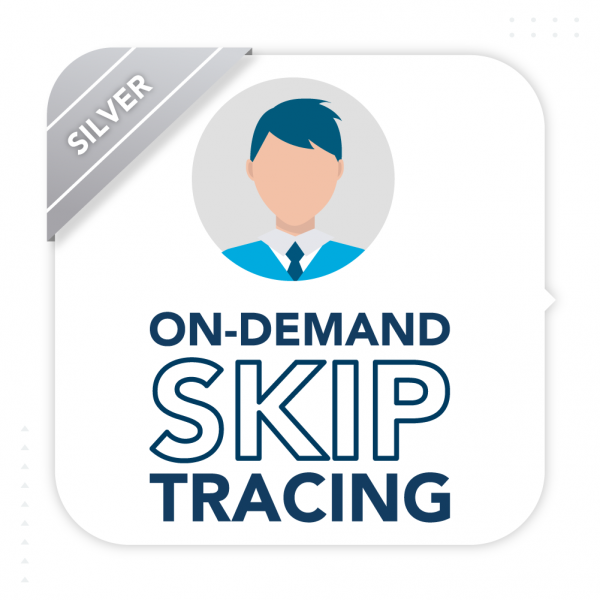On Demand Skip Tracing Silver Subscription