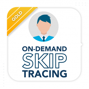 On Demand Skip Tracing Gold Subscription