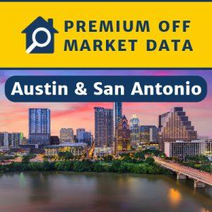 Premium Off Market Data — San Antonio