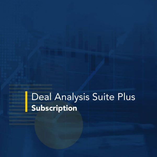 Deal Analysis Suite Plus Subscription
