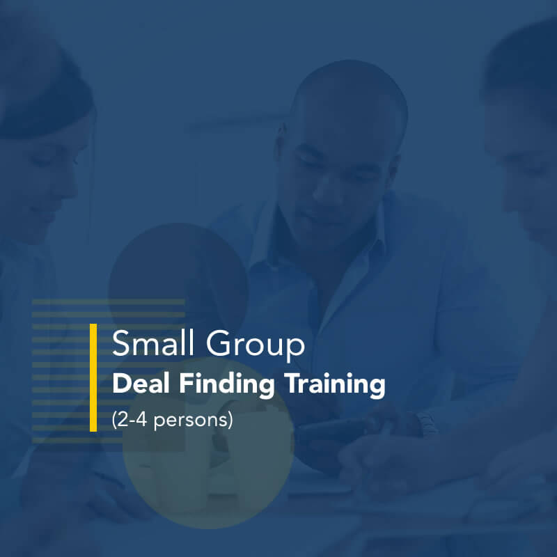 Small Group Deal Finding Training