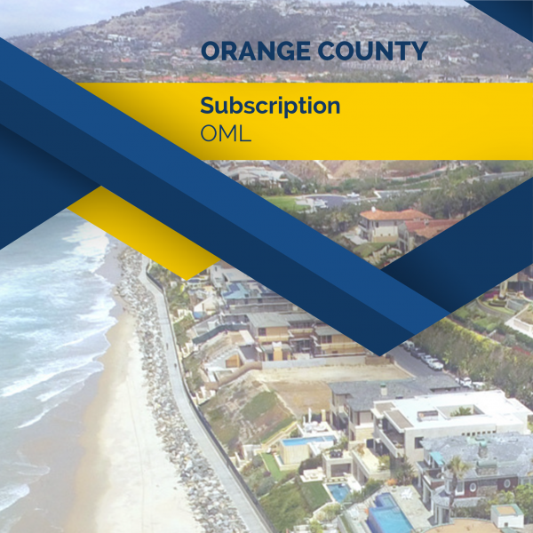 Orange County Subscription - OML