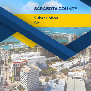 Sarasota County Subscription - OML
