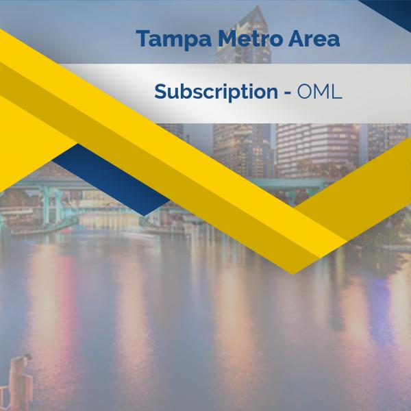Tampa - Metro Area Subscription - OML
