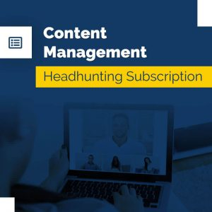 Content Management – Headhunting Service