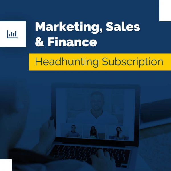 Marketing, Sales & Finance – Headhunting Service