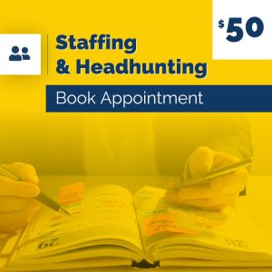 Staffing and Headhunting Book Appointment 50