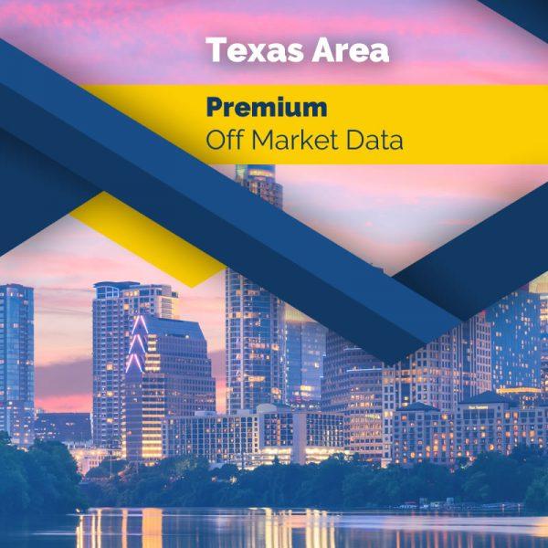 Texas State – Premium Off Market Data