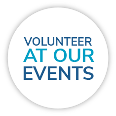 Come work with us as a Volunteer at our events