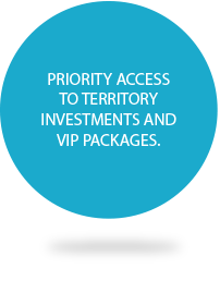Priority Access to Territory Investments and VIP Packages