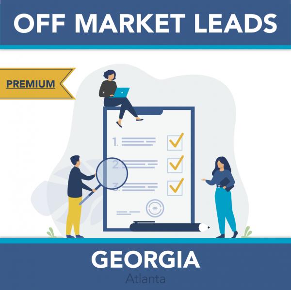 Georgia – Premium Off Market Leads
