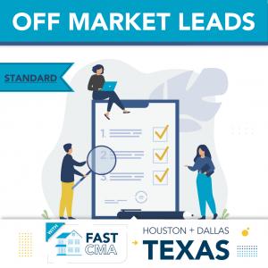 Dallas-Fort Worth & Houston Metros - Fast CMA